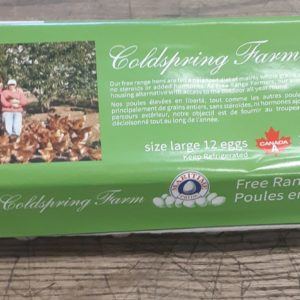 Coldspring Farm Free Range Eggs