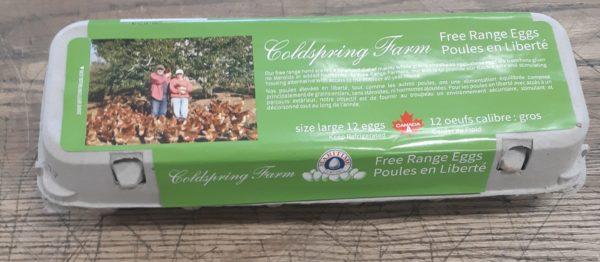Coldspring Farm Free Range Eggs