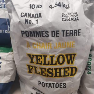 Potatoes, Yellow 10 lb