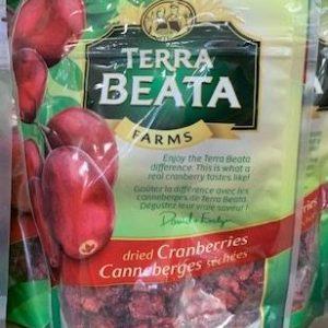Terra Beata Dried Cranberries