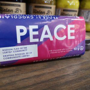 Peace by Chocolate Milk Chocolate/Hazelnuts