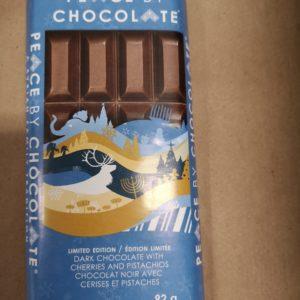 Peace by Chocolate Dark Chocolate/Cherries & Pistachios (92g)